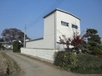 栃木市 農業用倉庫施工事例 CH様