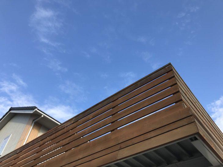 空をひとり占めできる ガレージデッキ N様邸(下野市)