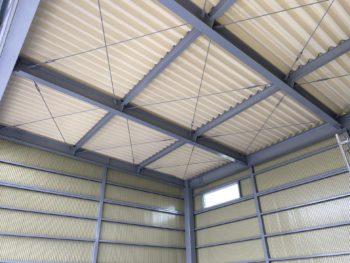 防犯・作業効率・耐久性を考慮したビジネスガレージ・ファーマーズガレージ T店(鹿沼市)